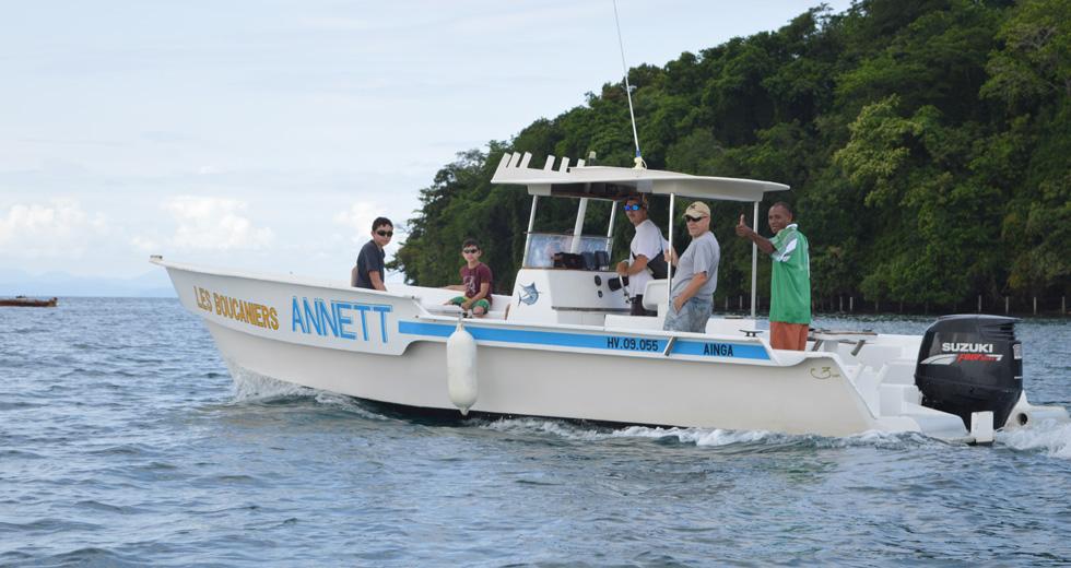 Pêche au Gros à Nosy Be - Madagascar